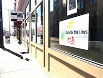 A photo of Outside the Lines Art & Gifts