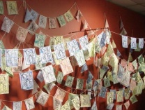 A photo of Prayer Flags - Breath