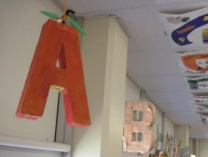 A photo of The Campau Preschool Alphabet