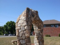 A photo of Twisted Stone Arch