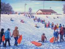 A photo of ZCS Sledding Hill