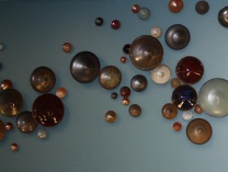 A photo of Ceramic Bowl Wall Installation