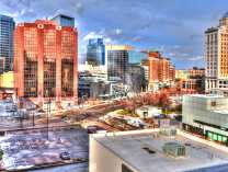 A photo of Grand Rapids - Downtown - HDR Time Lapse