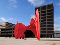 A photo of Calder Plaza