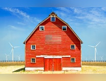 Photo of Holding Out   from the  American Barn Series
