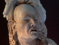 Photo of The Lost Art of Stone Sculpture: Mohican Warrior
