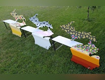 Photo of Michigan Benches - Trout Series