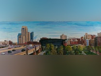 Photo of Grand Rapids, View from the Wealthy Street Overpass