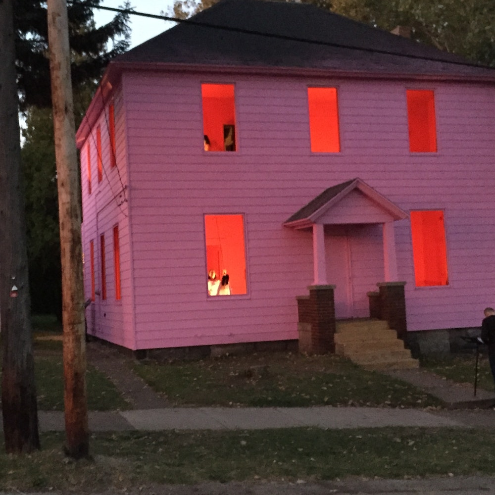 kate gilmore higher ground artprize entry profile a radically open art contest grand rapids michigan - Pink Home 2015