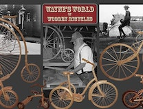Photo of Wayne's World of Wooden Bicycles