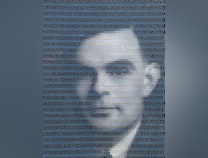 Photo of Tribute to Alan Turing