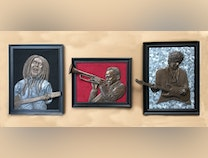 Photo of Music Legends in Relief